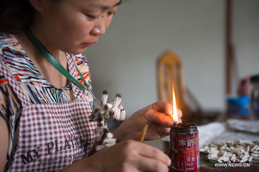 CHINA-ZHEJIANG-HUZHOU-WRITING BRUSH-ECONOMY(CN)**