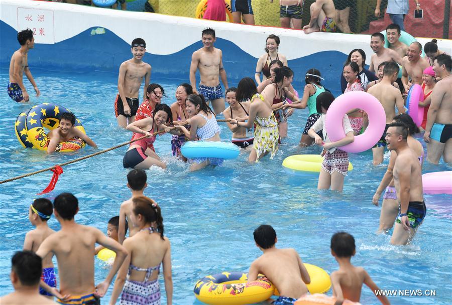 CHINA-CHONGQING-SUMMER-WATER(CN)