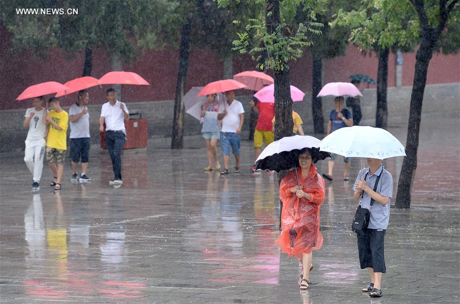 CHINA-XI'AN-RAIN(CN)
