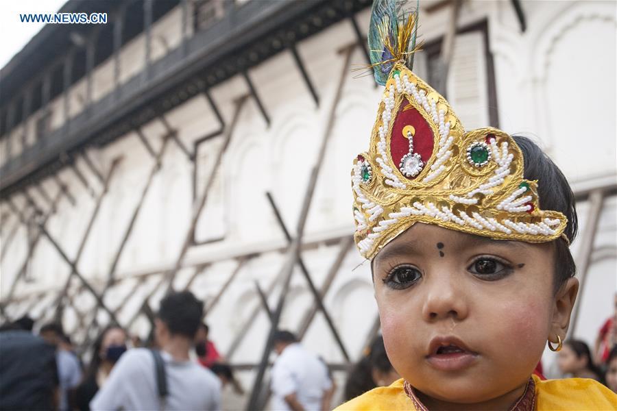 NEPAL-KATHMANDU-FESTIVAL-GAIJATRA