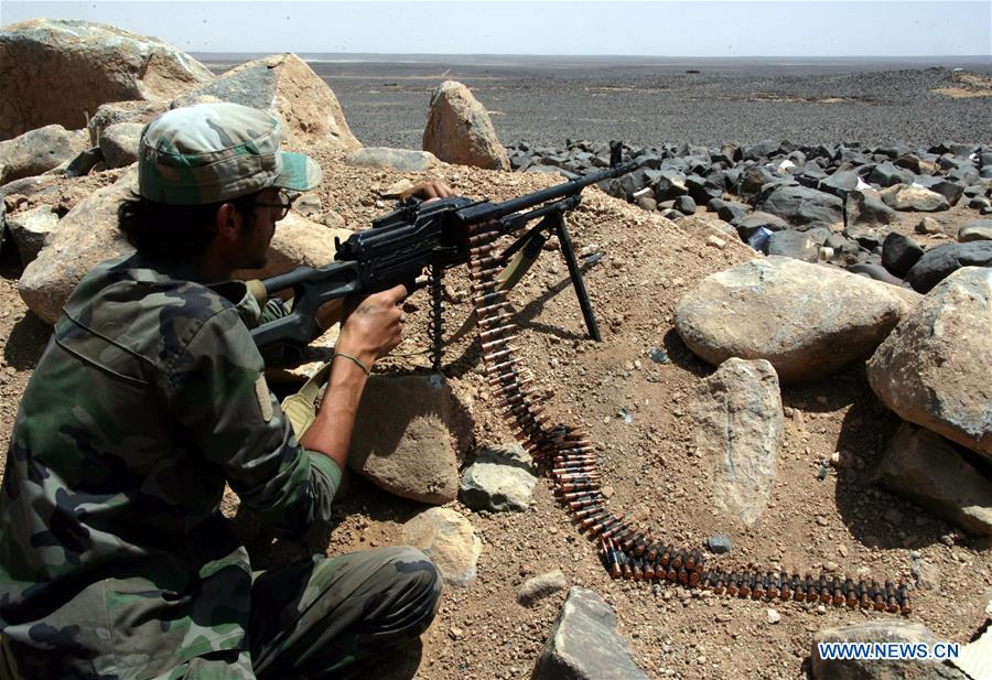 SYRIA-SWEIDA-IS-BATTLE