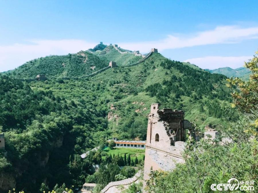 Scenery of Simatai Great Wall