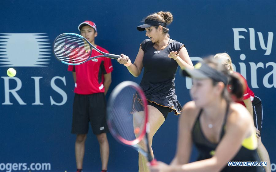 (SP)CANADA-TORONTO-TENNIS-ROGERS CUP-WOMEN'S DOUBLES