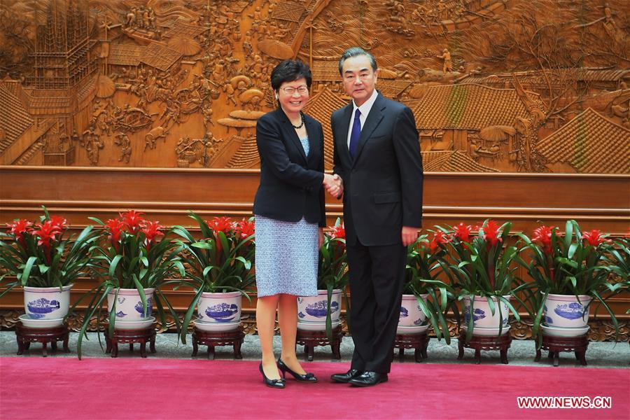 CHINA-BEIJING-WANG YI-HKSAR-MEETING(CN)