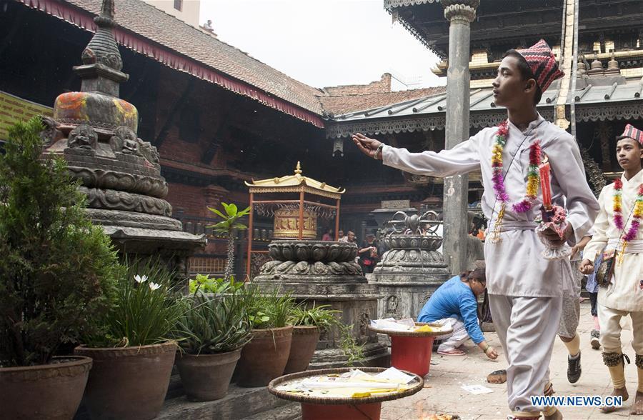 NEPAL-LALITPUR-NEKU JATRA-MATAYA FESTIVAL