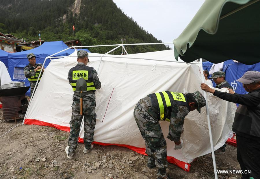 CHINA-SICHUAN-JIUZHAIGOU-EARTHQUAKE-SETTLEMENTS (CN)