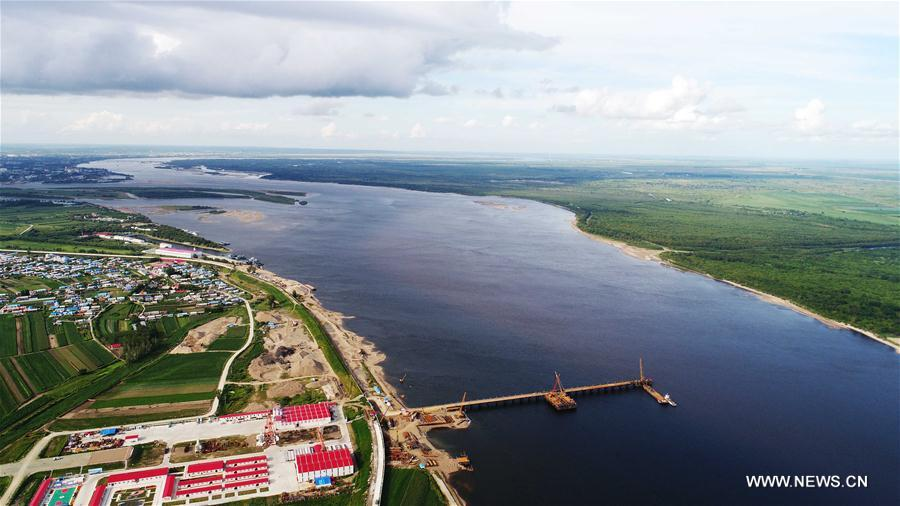 CHINA-RUSSIA-HEILONGJIANG BRIDGE-CONSTRUCTION (CN)