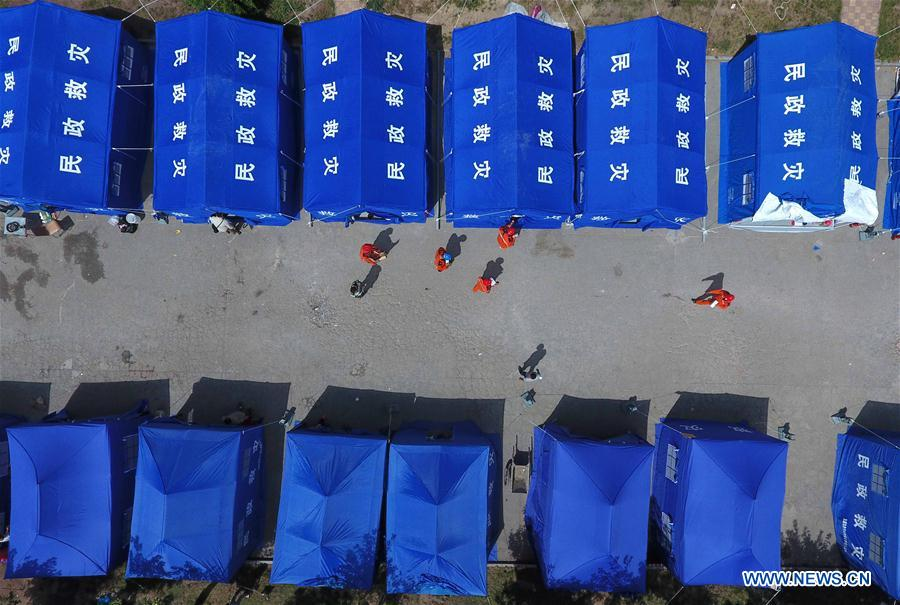 CHINA-SICHUAN-JIUZHAIGOU-EARTHQUAKE-TENT(CN)