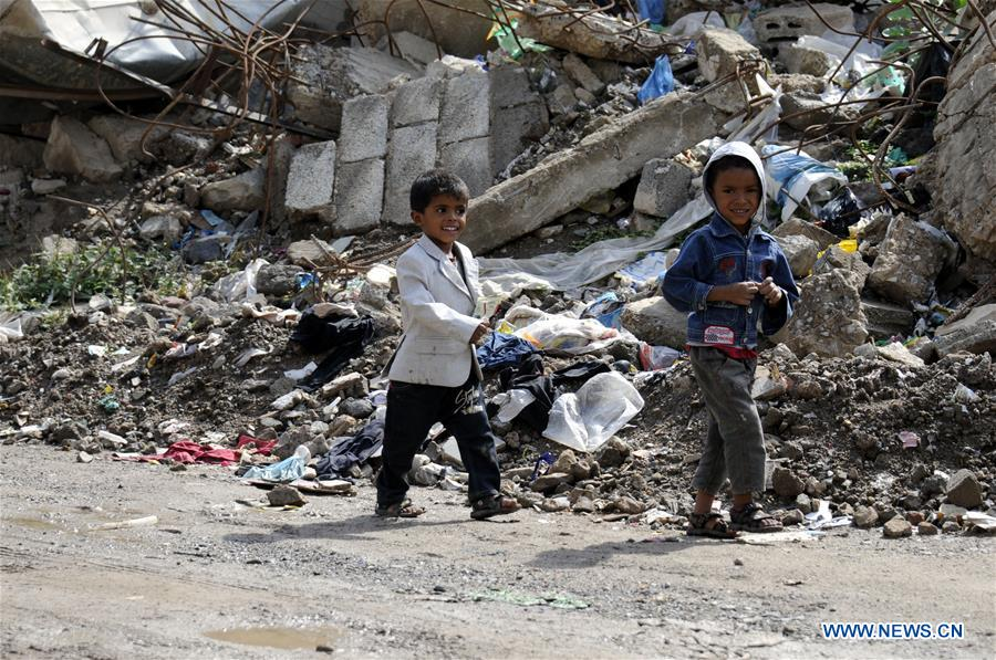 YEMEN-SANAA-CIVIL WAR-CHILDREN DEATH