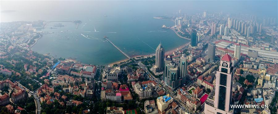 CHINA-SHANDONG-QINGDAO-AERIAL VIEW (CN)