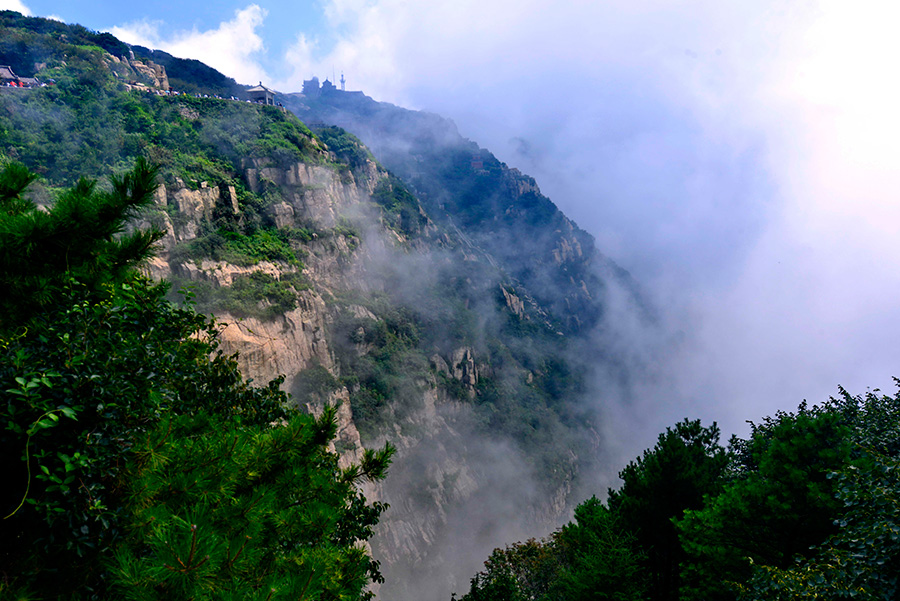 Taishan Mountain's fairyland captivates photographers