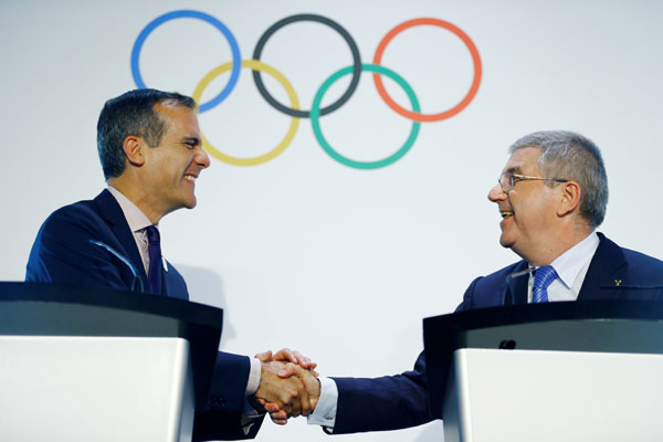 LA City Council approves contracts with IOC to host 2028 Olympics