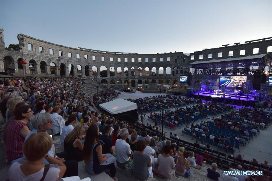 CROATIA-PULA-SILK ROAD-CHINESE ETHNO MUSIC FESTIVAL
