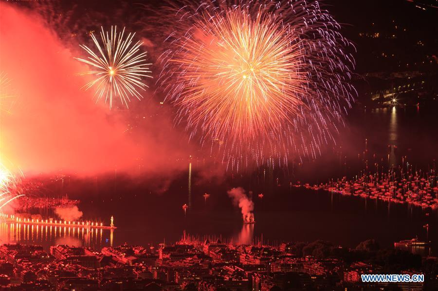 SWITZERLAND-GENEVA-FESTIVAL-FIREWORKS