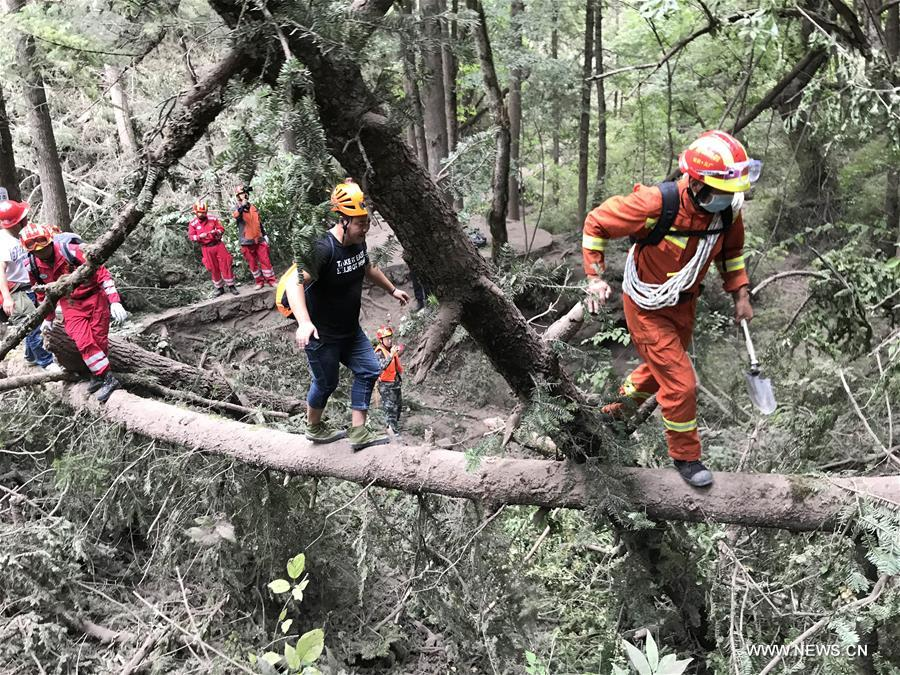 CHINA-SICHUAN-JIUZHAIGOU-QUAKE-RESCUE(CN)