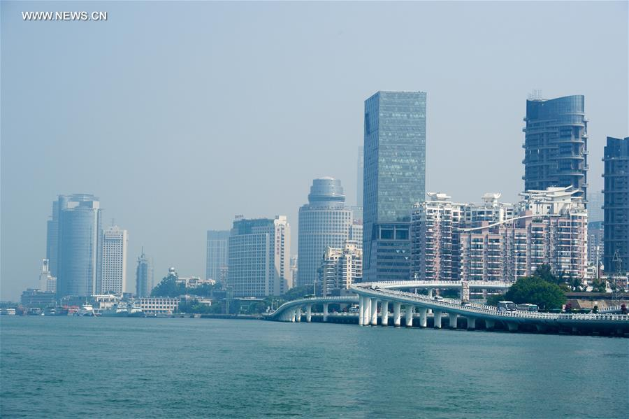 CHINA-FUJIAN-XIAMEN-SKYLINE(CN)