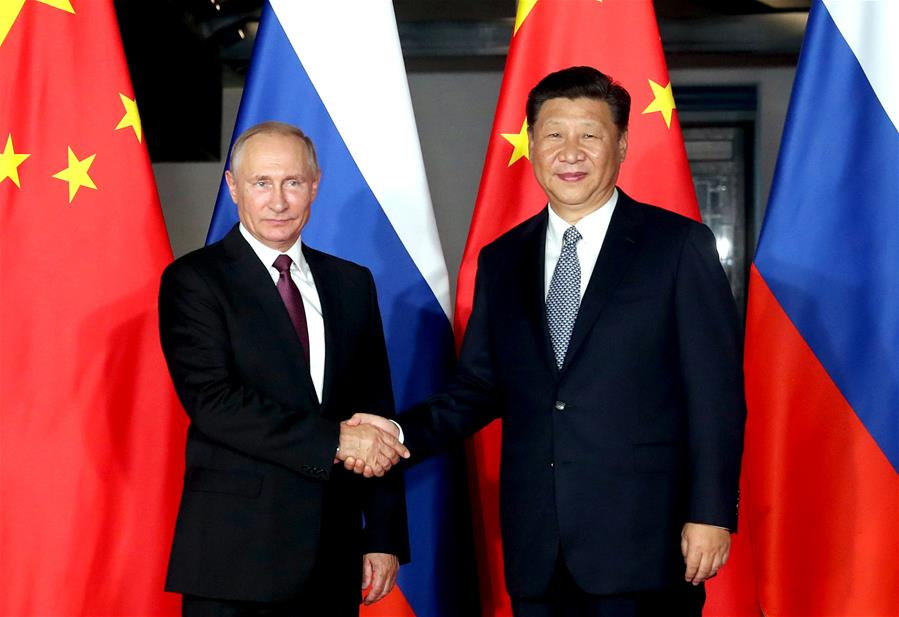 (XIAMEN SUMMIT)CHINA-XIAMEN-XI JINPING-PUTIN-MEETING (CN)