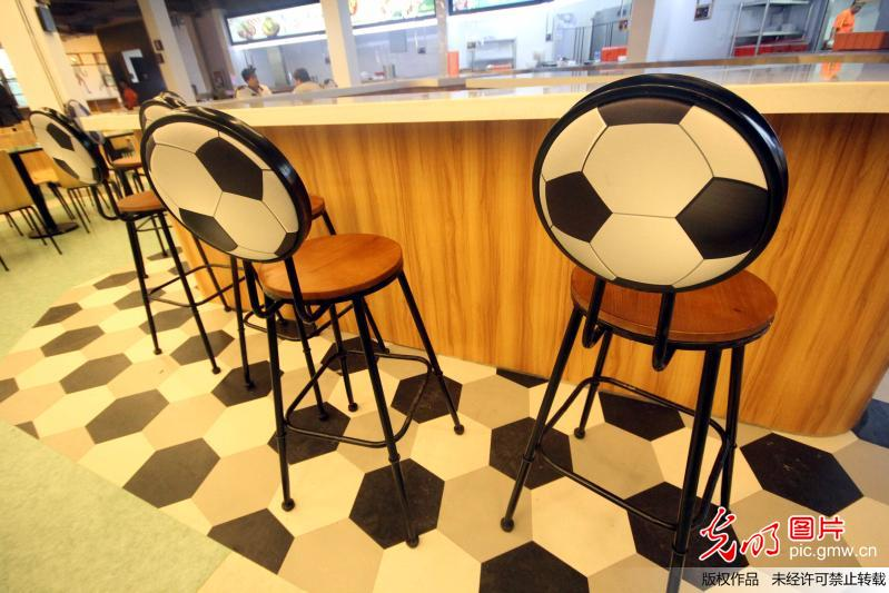 First sports-themed restaurant opened in E China's university