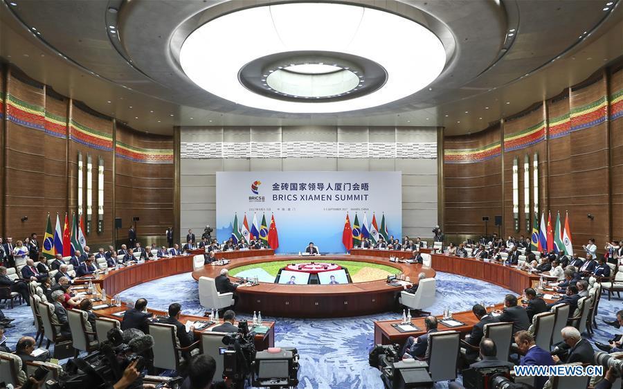 (XIAMEN SUMMIT)CHINA-XIAMEN-XI JINPING-BRICS SUMMIT (CN)