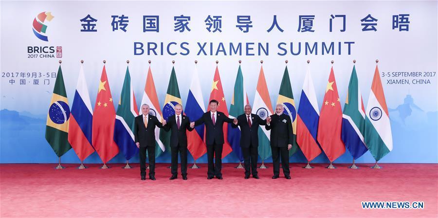 (XIAMEN SUMMIT)CHINA-XIAMEN-BRICS-XI JINPING-MEETING (CN)