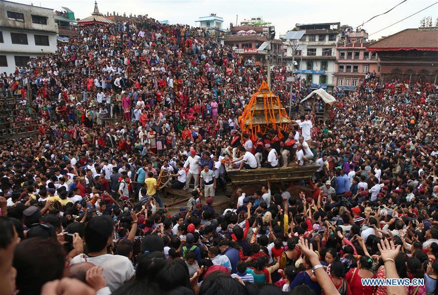 NEPAL-KATHMANDU-FESTIVAL-INDRA JATRA