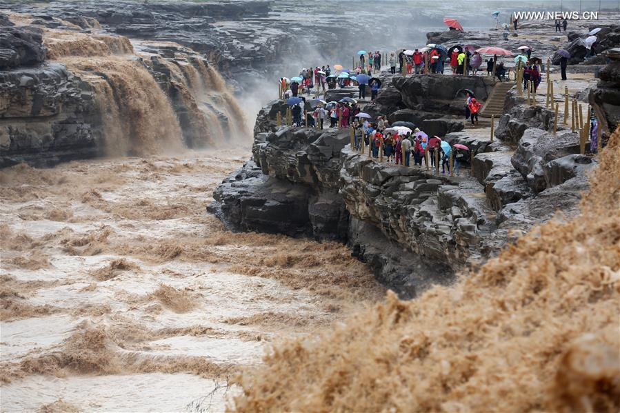 #CHINA-SHAANXI-HUKOU WATERFALL (CN)