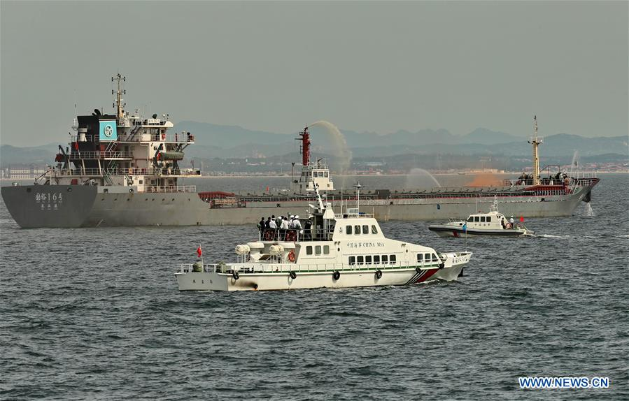 CHINA-HEBEI-LIAONING-JOINT MARINE DRILL (CN)