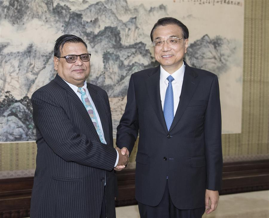 CHINA-BEIJING-LI KEQIANG-NEPAL-MEETING (CN)