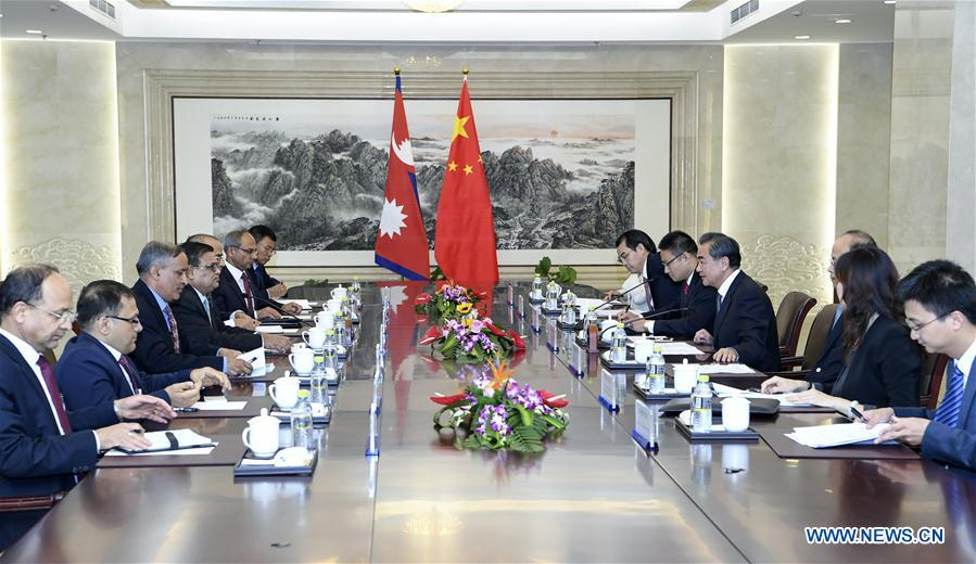 CHINA-BEIJING-WANG YI-NEPAL-TALKS (CN)
