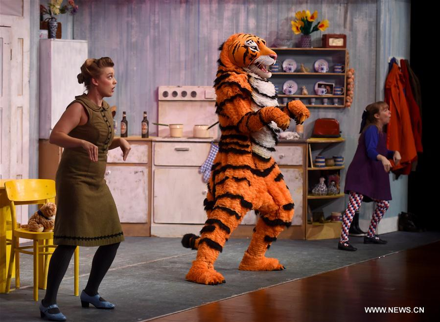 CHINA-BEIJING-CHILDREN'S DRAMA-THE TIGER WHO CAME TO TEA (CN)