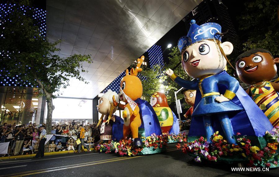 CHINA-SHANGHAI-TOURISM FESTIVAL-PARADE (CN)