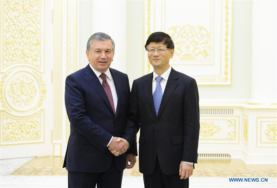 UZBEKISTAN-TASHKENT-CHINA-MENG JIANZHU-VISIT
