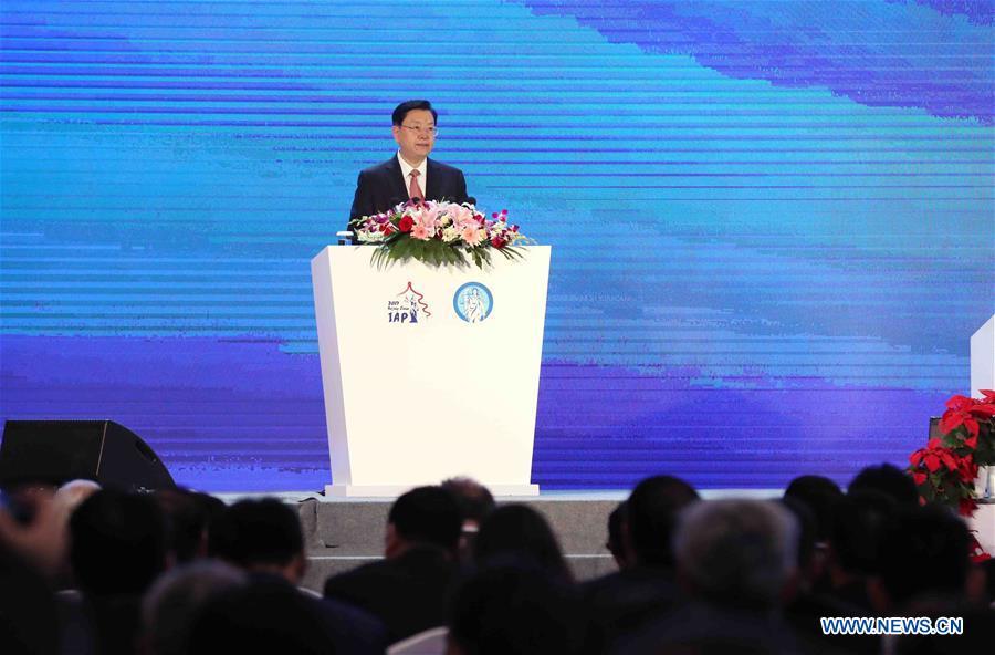 CHINA-BEIJING-ZHANG DEJIANG-IAP CONFERENCE (CN)