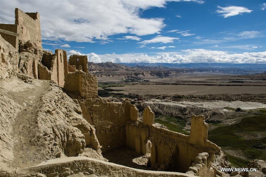 CHINA-TIBET-GUGE KINGDOM-RUINS (CN)