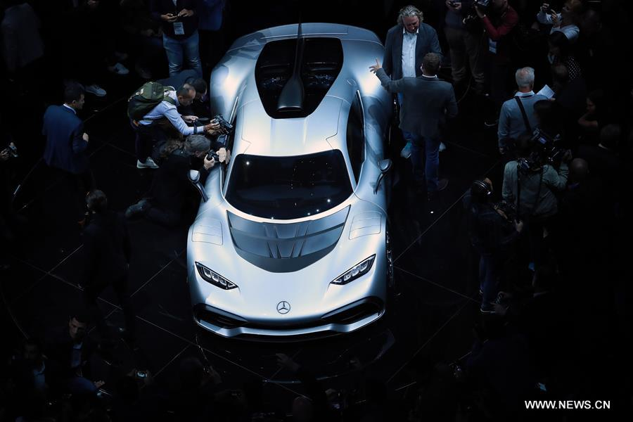 GERMANY-FRANKFURT-MERCEDES-BENZ-AMG PROJECT ONE