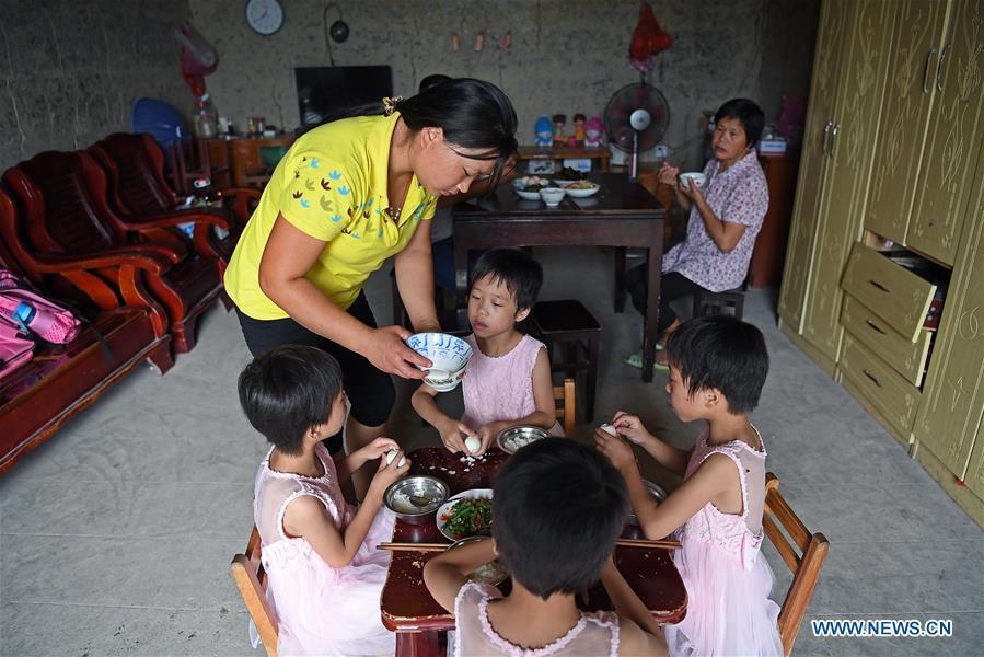 CHINA-JIANGXI-QUADRUPLET FAMILY-ANTI-POVERTY (CN)