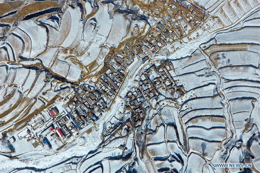 CHINA-SHANXI-VILLAGES-AERIAL PHOTO (CN)