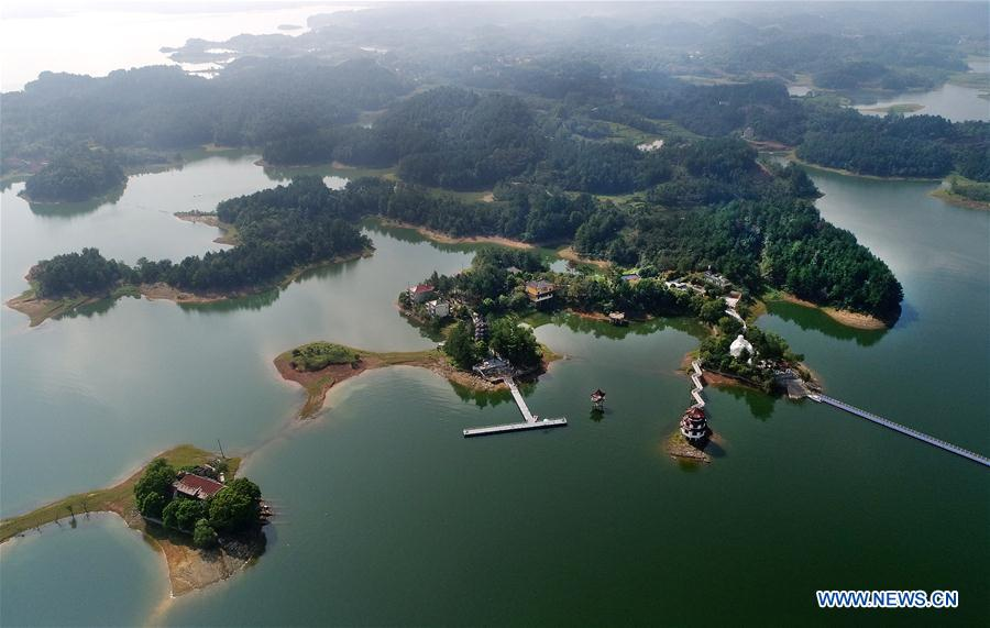 CHINA-ANHUI-WANFO LAKE-SCENERY (CN)