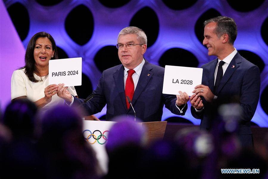 (SP)PERU-LIMA-IOC-SUMMER OLYMPICS-HOST CITIES-ANNOUNCEMENT