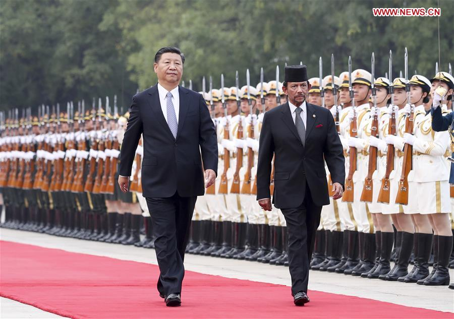 CHINA-XI JINPING-BRUNEI-TALKS(CN)