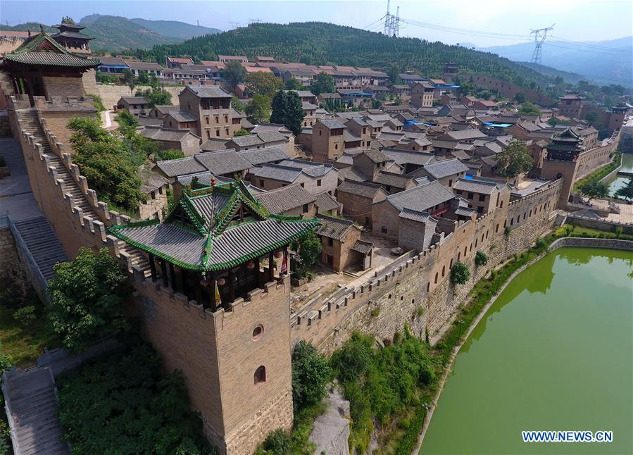 CHINA-SHANXI-VILLAGES-AERIAL PHOTO (CN)