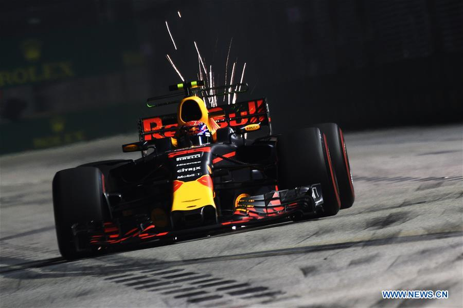 (SP)SINGAPORE-FORMULA ONE-SINGAPORE GRAND PRIX-PRACTICE