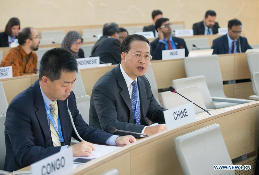 SWITZERLAND-GENEVA-UN HUMAN RIGHTS COUNCIL-CHINA