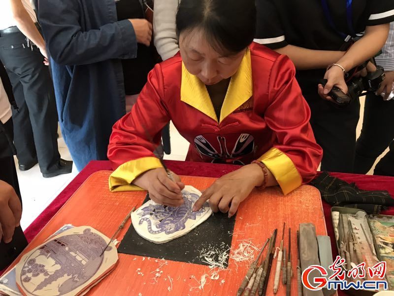 In photos: World Intagible Cultural Heritage Guangling Paper Cut in N China's Shanxi