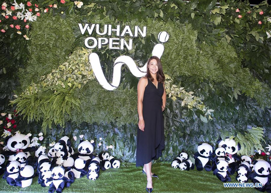 (SP)CHINA-WUHAN-TENNIS-WTA-WUHAN OPEN-PLAYERS-PARTY(CN)