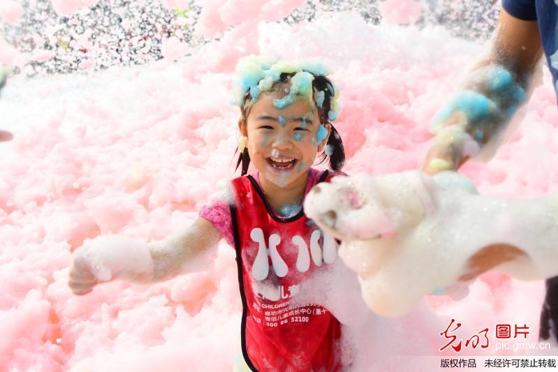Bubble run held China's Hebei