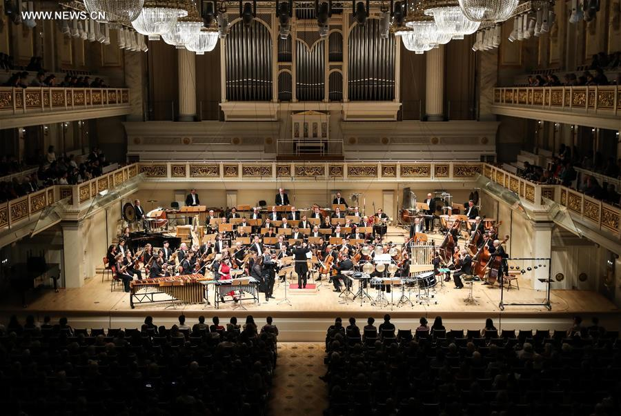 GERMANY-BERLIN-CHINA-SYMPHONY CONCERT