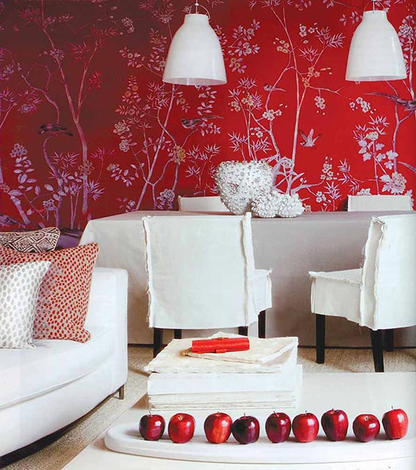 Makeover with wallpaper