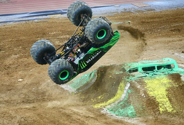 Monster trucks to rumble into SW China