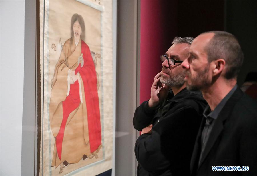 Chinese portrait painting exhibition unveiled in Berlin
